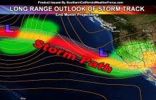 El Nino Update; Storm Pattern Possible In Longer Range