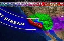 Major Pacific Storm Frances Announced; Category Five On Sunday At Center