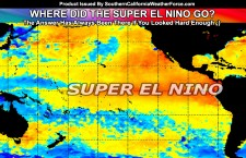 What Happened To El Nino For Southern California?  The Answer Is Here; Video Included