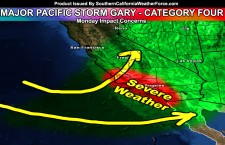 Major Pacific Storm Gary Announced;  Category Four On Monday; Severe Weather Dynamics Detected