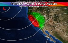 Unprecedented Thunderstorms Slam Parts Of Southern California; Another Storm Coming; Possible Name