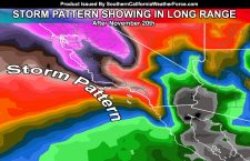 Heat and Storms:  Long Range To Finally Open Storm Window For Southern California