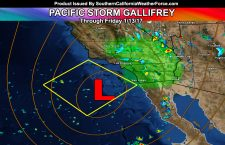 VIDEO Including:  Pacific Storm Gallifrey To Stick Around Through Friday North, South, and East of Los Angeles