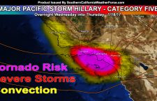 Series Of Severe Storms Set To Impact Southern California Starting Thursday