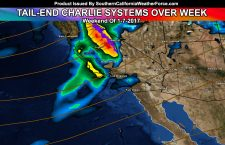 Showers Through Thursday, Storm Pattern Returning This Weekend