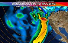 Major Pacific Storm Lucifer; Details:  Strong Pacific Storm Aims Southern California On Friday; Saturday For Some