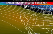 Long Range Weather Forecast:  March 2017