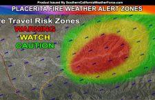 PLACERITA FIRE WEATHER ALERT ZONES