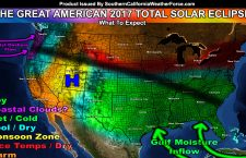 Weather Forecast:  The Great American Total Solar Eclipse of August 21, 2017