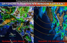 Offshore Flow To Bring High Fire Danger Through Weekend; Rain In The Medium Range?