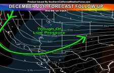 December 2017 Forecast Follow-up for Southern California's Weather Pattern