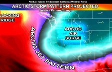 Arctic Storm Pattern Looking Likely After Winter Solstice;  Low Elevation Snowfall Pattern