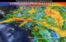 Santa Ana Winds To Gust On Your Thursday; High Fire Risk Resumes; Geminid Meteor Shower Peaks Tonight