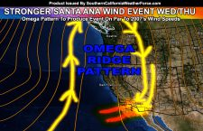 WARNING:  Widespread Santa Ana Wind Event Has Stronger Secondary Peak This Week
