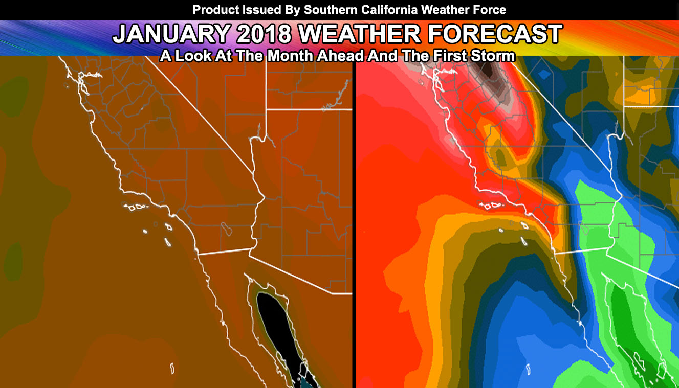 January 2018 Southern California Regional Weather Forecast ...