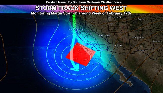 Cutoff Pattern Storm System Eyes Martin Storm Diamond This Next Week