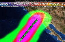 Warning:  Deadly Atmospheric River Event To Impact Burn Areas This Next Week;  Thomas Fire Scar Zone Danger