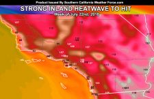 BREAKING:  Strong Inland Heatwave To Impact This Next Week For Southern California
