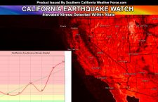 Earthquake Watch:  California Earthquake Watch In Effect Due To Elevated Fault Stress Levels