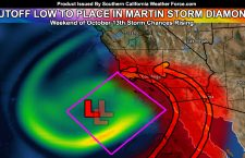 Cutoff Low Storm For Elevated Rain Chances This Weekend