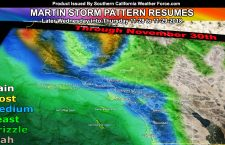 Martin Storm Pattern Remains Intact, Another System Arrives By This Next Week