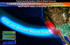 California Storm Pattern:  Confidence Continues To Rise For Thanksgiving Holiday Martin Storm Pattern