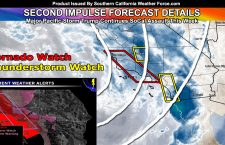Tornado Watch: Major Pacific Storm Trump To Impact Throughout The Week; Severe Weather Expected