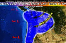 Initial Details: Arctic Low and Storm Front To Bring Significant Snow and Thundersnow Risks To The Pacific Northwest Friday into The Weekend