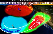 Atmospheric River Pattern Set In Stone No Matter What Anyone Says;  Starts Mid-Next Week Into The Weekend