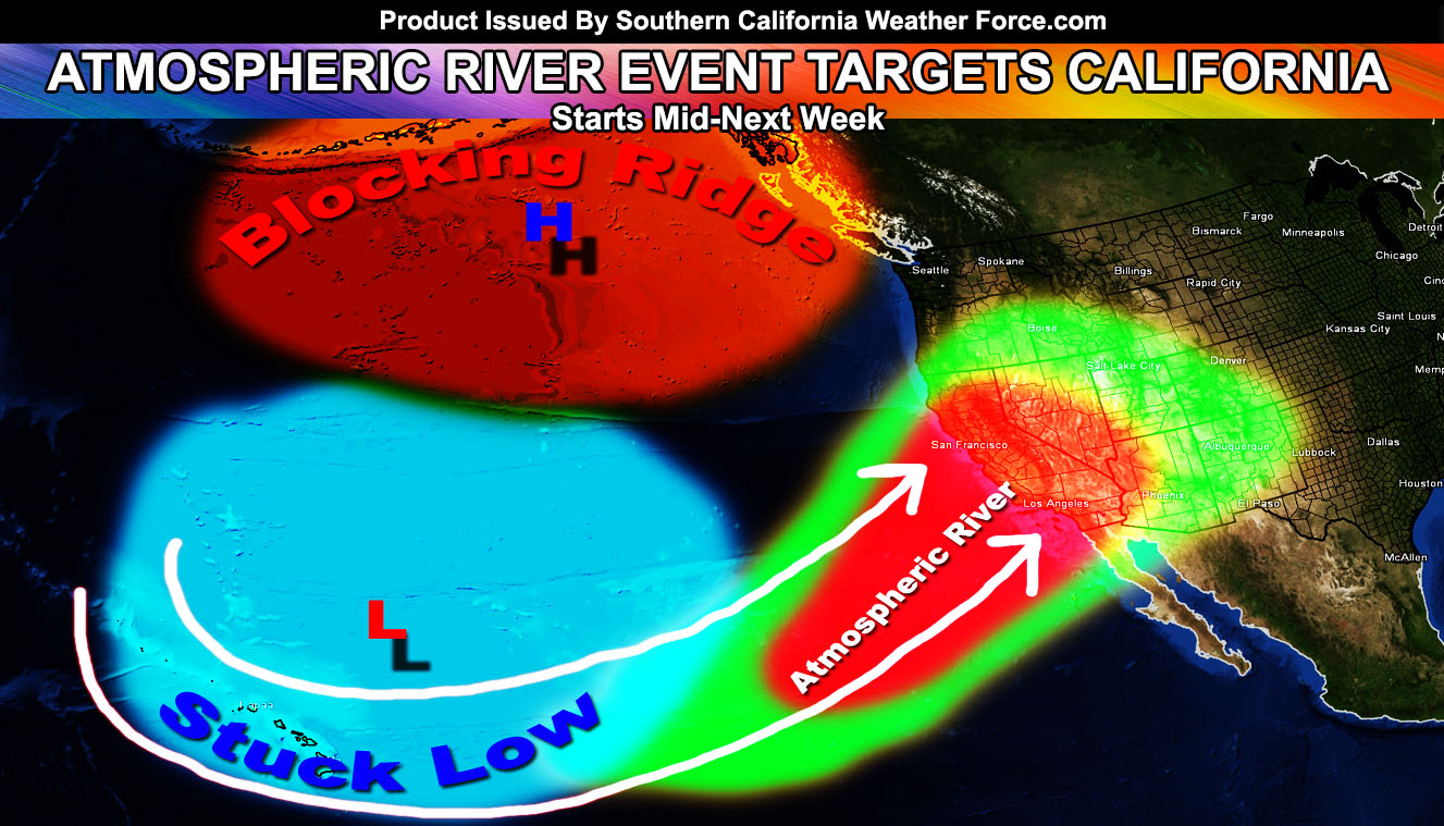 Atmospheric River Pattern Set In Stone No Matter What Anyone