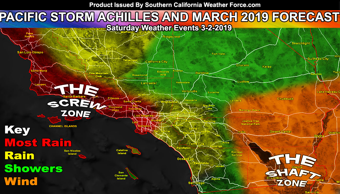 Detailed: March 2019 Weather Forecast Pattern For Southern ...