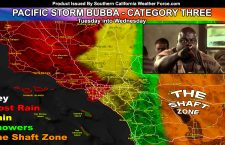 Detailed:  Pacific Storm Bubba To Impact Through Today, Mostly Overnight into Wednesday Morning; Flood Warnings Issued