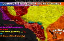 Detailed Final; Second Pacific Storm To Move Through Southern California Tonight Through Sunday; Snow In Local Mountains