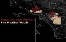 Fire Weather Watch – Embedded Santa Ana Wind Advisory