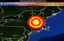 Scientists: New Supervolcano Developing Under New England States in the Northeast USA