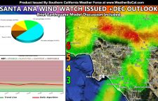 Santa Ana Watch Issued Surrounding Thanksgiving; A Look Into December's Weather Pattern Along With An Earthquake Update