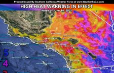 High Heat Warning In Effect For The Rest Of The Week as Level 4 Heatwave Hits Southland With Level 5 In The Low Deserts