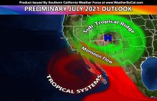 Summer Monsoon:  Three Tropical System Names Down In The Pacific Already; What Does It Mean For Summer?