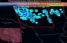 Weather Advisory Box Verified Overnight With Numerous Thunderstorms On a Rare Forecast; What is Next?