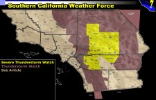 Severe Thunderstorm and Thunderstorm Watch